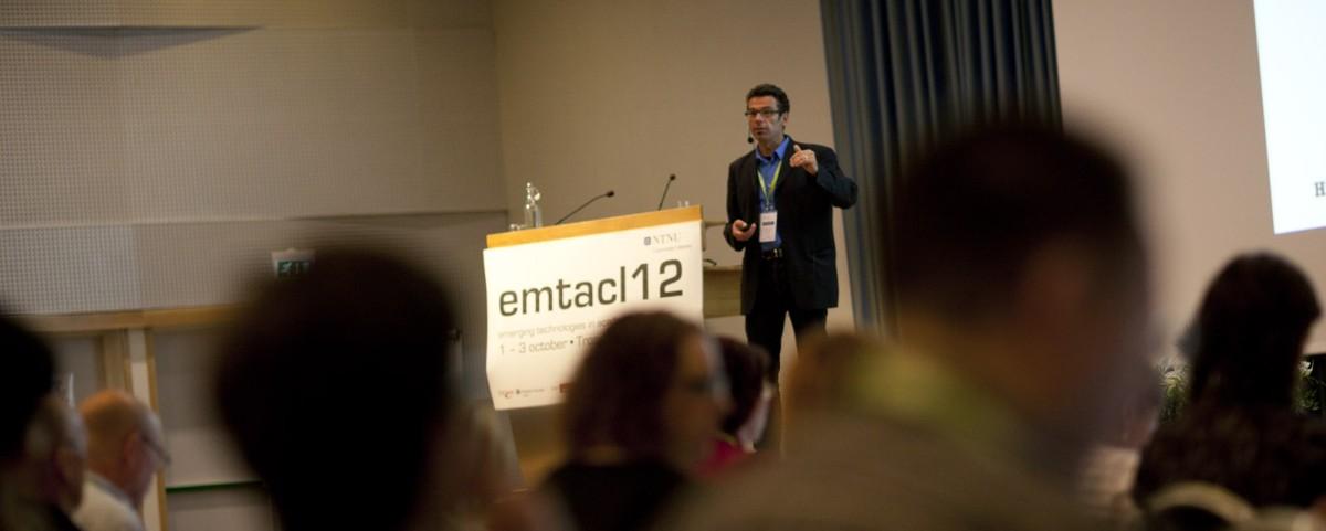 Vortrag an der emtacl12 in Trondheim