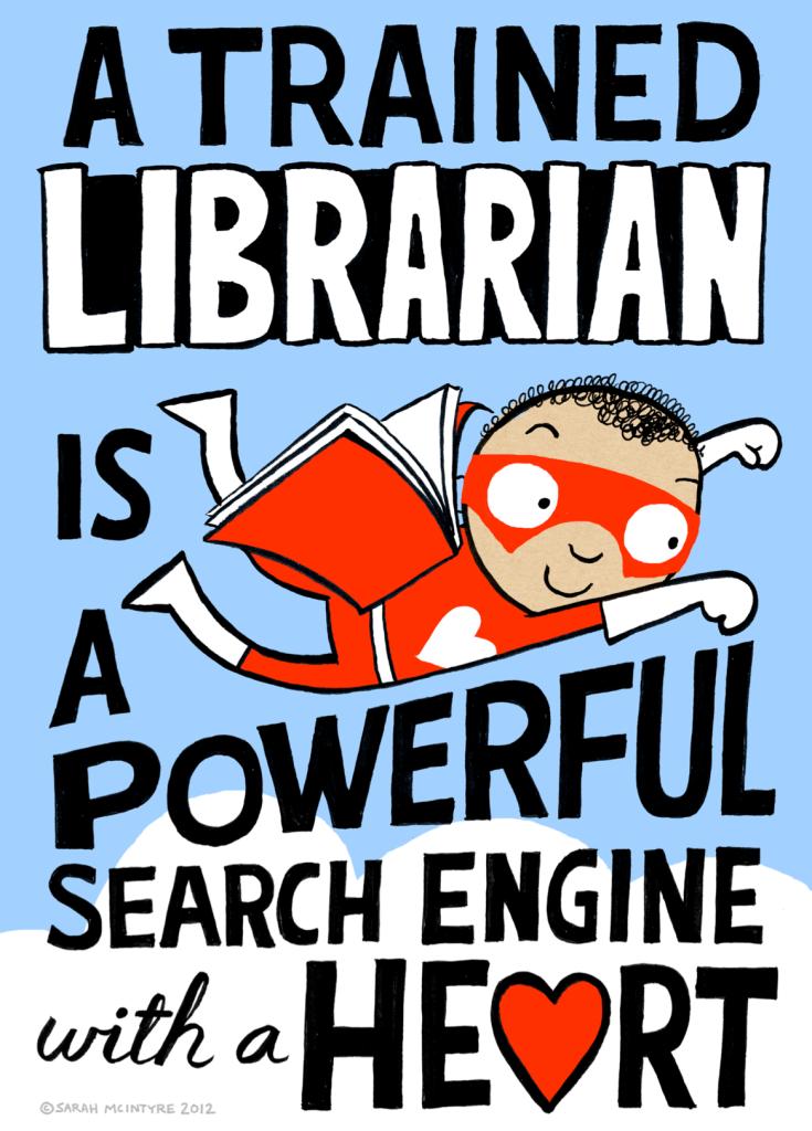 Sarah McIntyre: Super Librarian